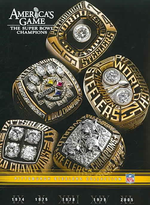 NFL AMERICAS GAME:PITTSBURGH STEELERS (DVD) [5 DISCS]
